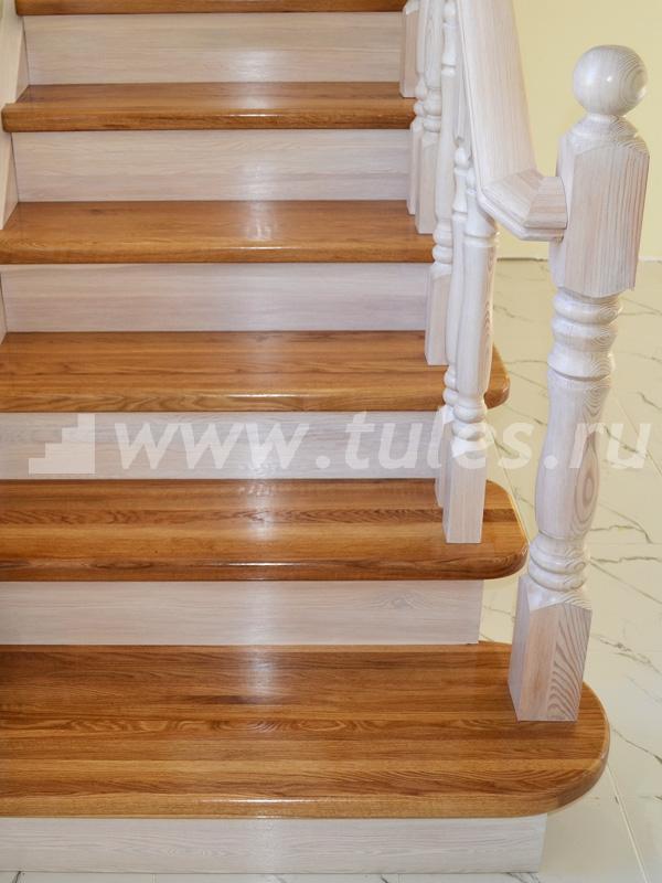 фото лестница из лиственницы